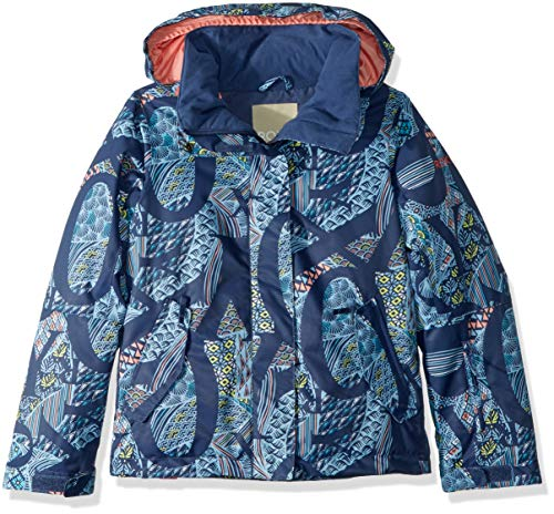 Roxy Little Jetty Girl Snow Jacket, Crown