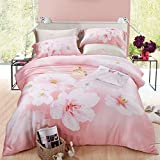 DHWM-The spring and summer double sided Tencel 4 piece set, bed linen, the beds were set up ice silk bedding ,2.0m