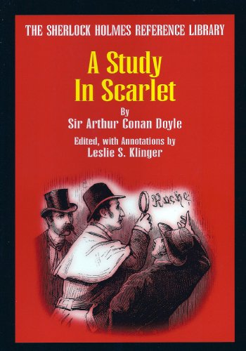 A Study in Scarlet (The Sherlock Holmes Reference (Scarlet Cross)