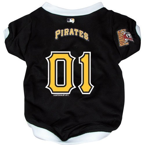 Hunter MFG Pittsburgh Pirates Dog Jersey, - Dog Jersey Pittsburgh