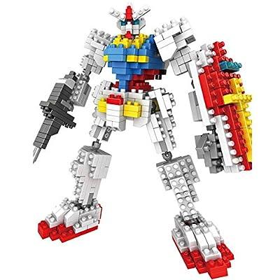 Alinshi New LOZ Diamond Block I Robots Children's Educational Toys