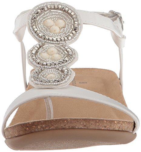 Bandolino Mujeres Obstaculiza Sandal White