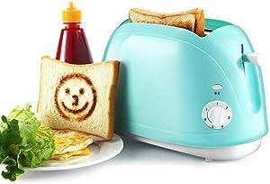ykw Breadmakers,750W Home Automatic Toaster 2 Slice Bread Baking Machine Breakfast Maker