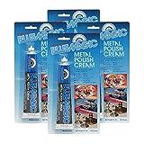 BlueMagic 300 Metal Polish Cream - 3.5 oz. - 4 Pack