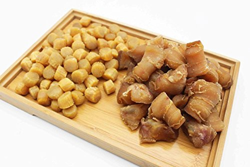 China Good Food Set-28 Dried Conch Head 螺頭 x Dried Medium Scallops Scallops 日本元貝 Free Airmail by China Good Food (Image #2)