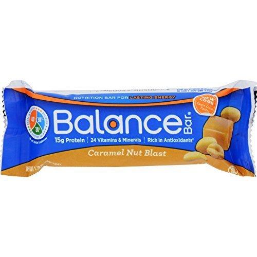 Balance Bar Gold Bar Carmel Nut Blast 1.76 Oz 15 Cs