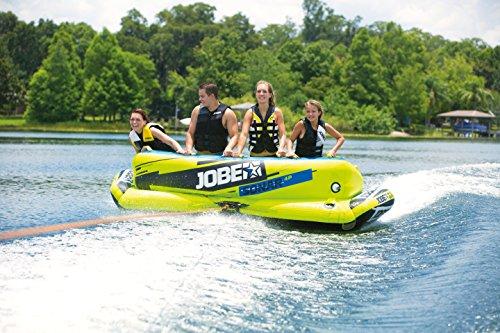Jobe Sonar 4P - Flotador de Arrastre, Color Amarillo: Amazon.es: Deportes y aire libre