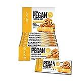 Pegan® Protein Bar (Vanilla Cinn Roll) 12 Bars (20g Organic Plant Protein) (3 Net Carbs 1g Sugar)