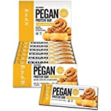 Pegan® Protein Bar (Vanilla Cinn Roll) 12 Bars (20g Organic Plant Protein) (3 Net Carbs 1g Sugar) VeganⓋ