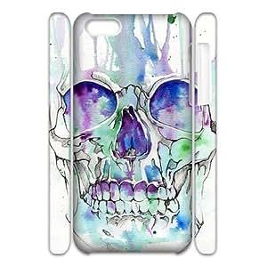 skull 3D-Printed ZLB816441 Unique Design 3D Phone Case for Iphone 5C