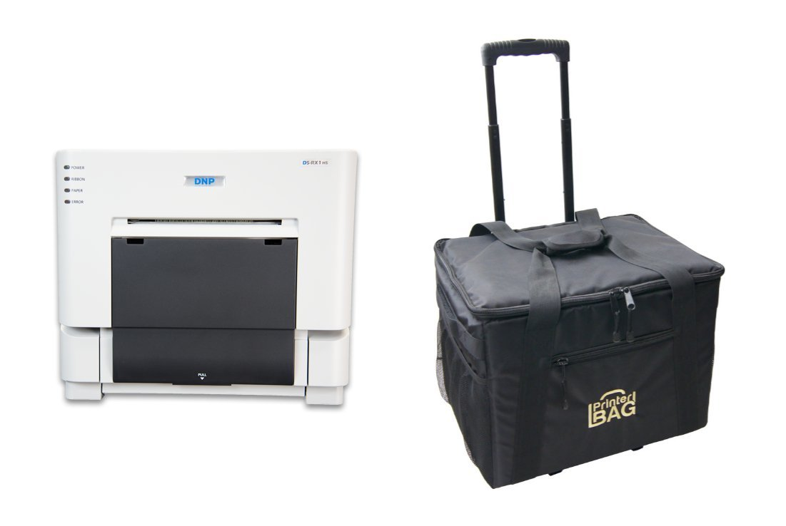 DNP DS-RX1HS Photo Printer - BUNDLE OFFER - with our Rolling Carrying Case.