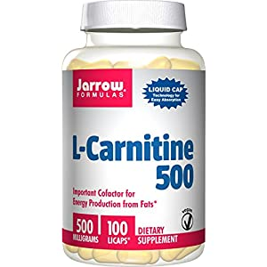 Jarrow Formulas L Carnitine 500 mg,