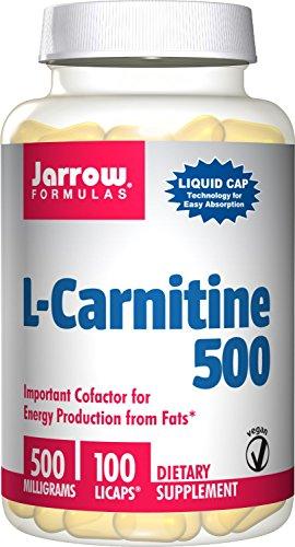Jarrow Formulas L Carnitine 500 mg,