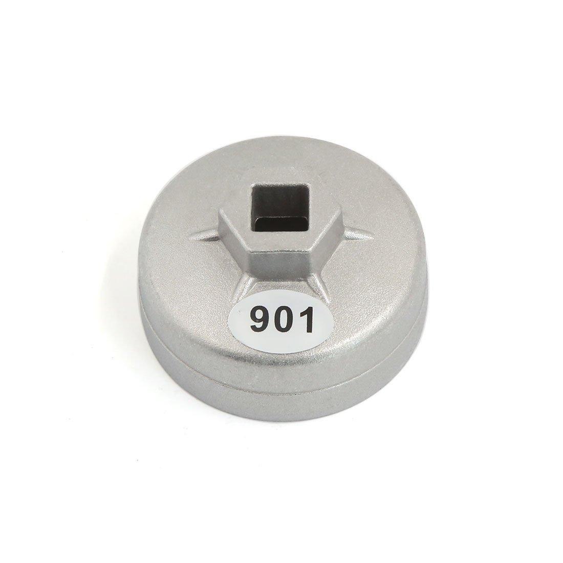 Sourcingmap® 13mm quadrato 14scanalature 65mm Drive tappo filtro olio chiave auto Tool sourcing map a16041800ux1244