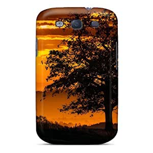 LJF phone case Galaxy S3 Case Cover With Shock Absorbent Protective GsVmIFK7832wfmDm Case