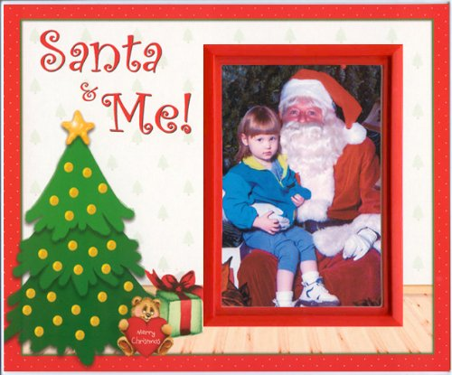 Santa and Me Christmas Picture Frame Gift ()