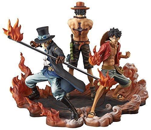 Banpresto One Piece DXF Figure, Brotherhood II Set of 3