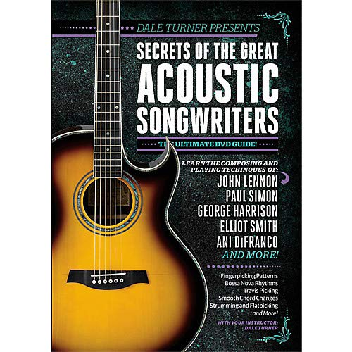 Dale Turner Presents Secrets of the Great Acoustic Songwriters DVD Pack of 2