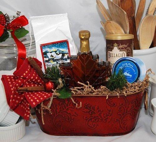Christmas Morn Breakfast Basket