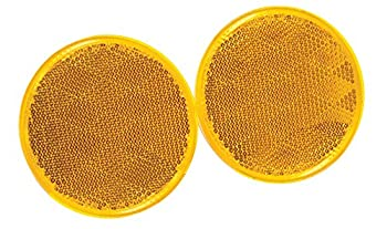 Reese Towpower 73817 Amber Reflector - 2 Pack
