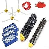 Amyehouse Replacement Parts Kit Bristle Brush & Flexible Beater Brush & Aero Vac