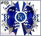 50pcs 4.5'' Baseball Hair Bow Hair Bow Boutique Style Rangers hair bows MLB baseball bows