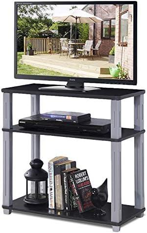 DREAMADE – Mesa de televisión con 3 estantes, para TV, TV, Muebles ...