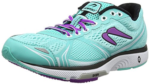 Newton Running Women's Motion VI Turquoise/Lavender Athletic Shoe by Newton Running