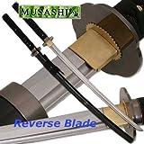 Musashi Reverse Blade Katana Full Tang