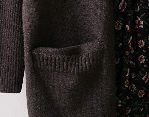 Outerwear Hiver Cardigan El Femme Automne Longues pPxTPAF
