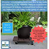 Big Blue Gardens Plant Stand - Outdoor Caddy