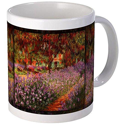 CafePress Irises In Monet's Garden 02 Monet, Mug Unique Coffee Mug, Coffee Cup ()