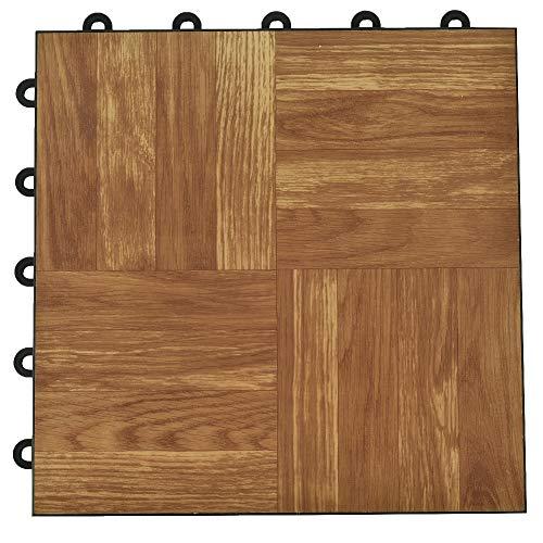Greatmats Basement Click Floor Tile 24 Pack