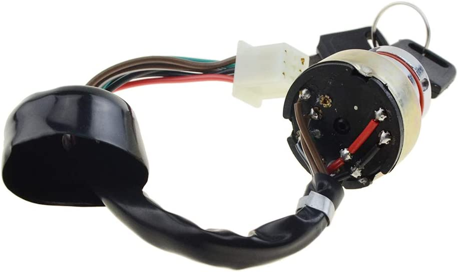 WOOSTAR Ignition Key Switch 6 Wires for 90cc 125cc 150cc Gokart ATV Dirt Pit Bike