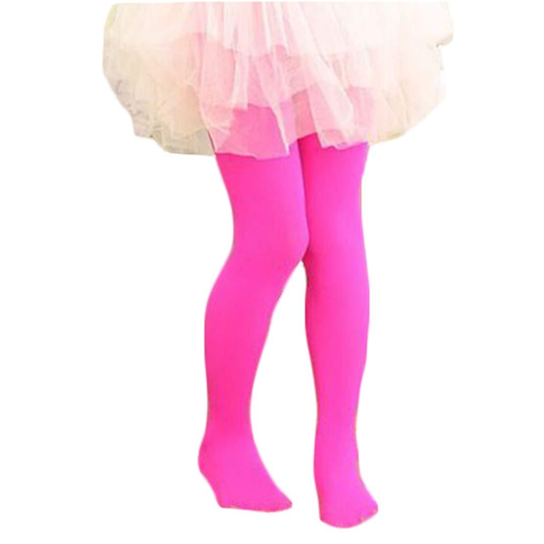 mama stadt 2PCS Medias Mallas para Ni/ñas Legging Pantalones El/ásticas Leotardos 80 Deniers 13 Colores