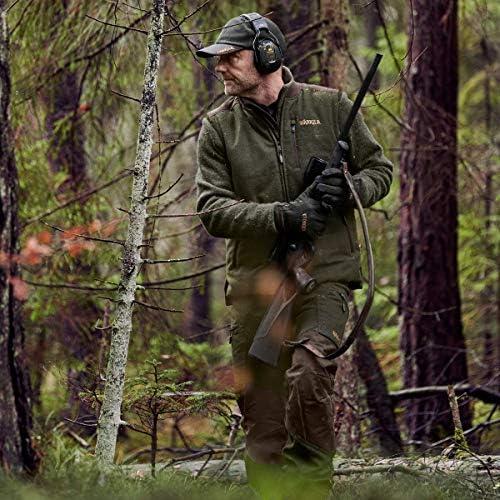 Pantalones de lodo transpirables con Bionic Finish/® Pantalones de caza para hombre de H/ärkila Metso Active Willow Green con paranieves Cordura/®