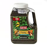 Kaycee Niger Seed Wild Bird Food Jug With Sock 4.65lb The premier seed for attracting Finches, Buntings, Siskins and a variety of other small songbirds. These small songbirds have smaller beaks so Niger's bite-size and high oil content make it a heal...