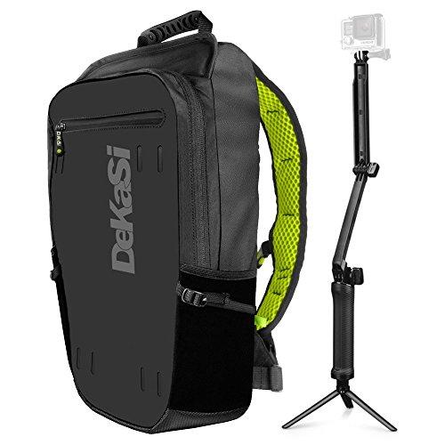 DeKaSi Seeker Backpack for GoPro HERO5 (Black,16L,FREE Extended 3-Way) - Gopro Hero 3 Backpack
