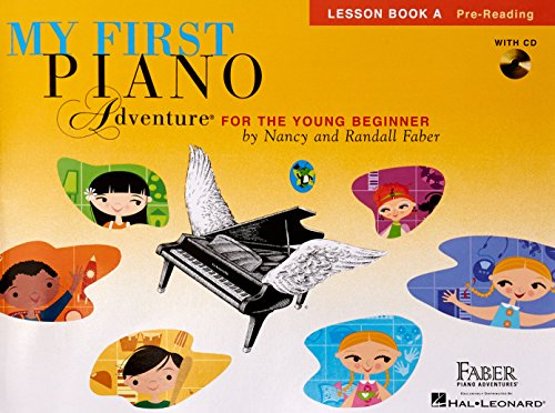 My First Piano Adventure for the Young Beginner, Lesson Book A with CD