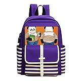 Fashion Printed Backpack Panda Fat School Bag