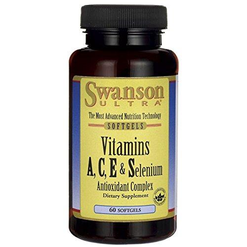 Swanson Vitamins A, C, E & Selenium 60 Sgels