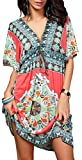 Miracle Sexy Womens Fashion Beach Wear Bikini Summer Swimsuit Cover Up Dress(Tunic1,XX-Large)