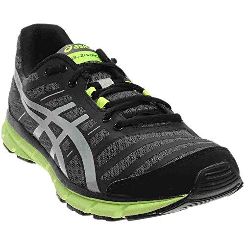 ASICS Men's Gel-Zaraca 2 Running Shoe,Dark Charcoal/Silver/Flash Yellow,12.5 M US