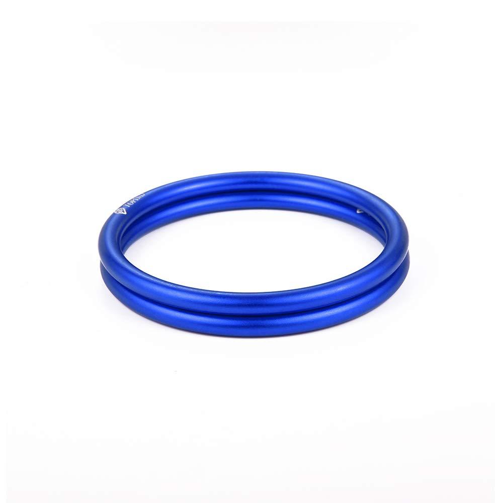 topind 7,6/cm Gr/ö/ße Aluminium Baby Sling Ringe f/ür Babyschalen /& Traget/ücher von 2/Pcs Blau