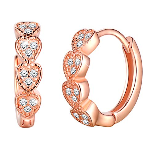 Armkette Infini Rose Plaqué Or 20 cm Infinity Armschmuck St Valentin