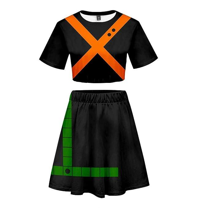Amazon.com: Boku No My Hero Academia Katsuki Bakugou disfraz ...