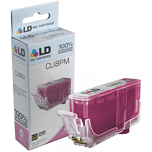 LD Compatible Replacement for Canon CLI8PM / 0625B002 Photo Magenta Ink Cartridge for use in PIXMA iP6600D, iP6700D, MP950, MP960, MP970, Pro 6000, Pro 6500, Pro 9000 & Pro 9000 Mark II (Magenta Photo Replacement Ink)