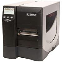 Z Series ZM400 - Label printer - B/W - direct thermal / thermal transfer - Roll (4.5 in) - 300 dpi - up to 479.5 inch/min - Parallel, Serial, USB, 10/100Base-T