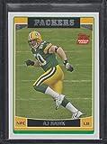 2006 Topps A.J. Hawk Packers Rookie Football Card #360