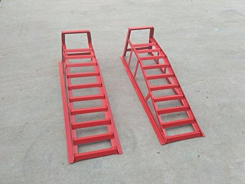 3Ton Ramp Wide Pair Car Service Maintenance Lifting Lifts Equipment Ramps 239071
